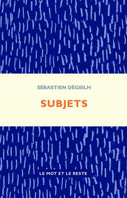 Subjets