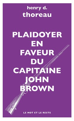 Plaidoyer en faveur du capitaine John Brown